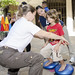 Test of balance administered by students of the Physical Therapist Assistant program at Kapi'olani Community College.