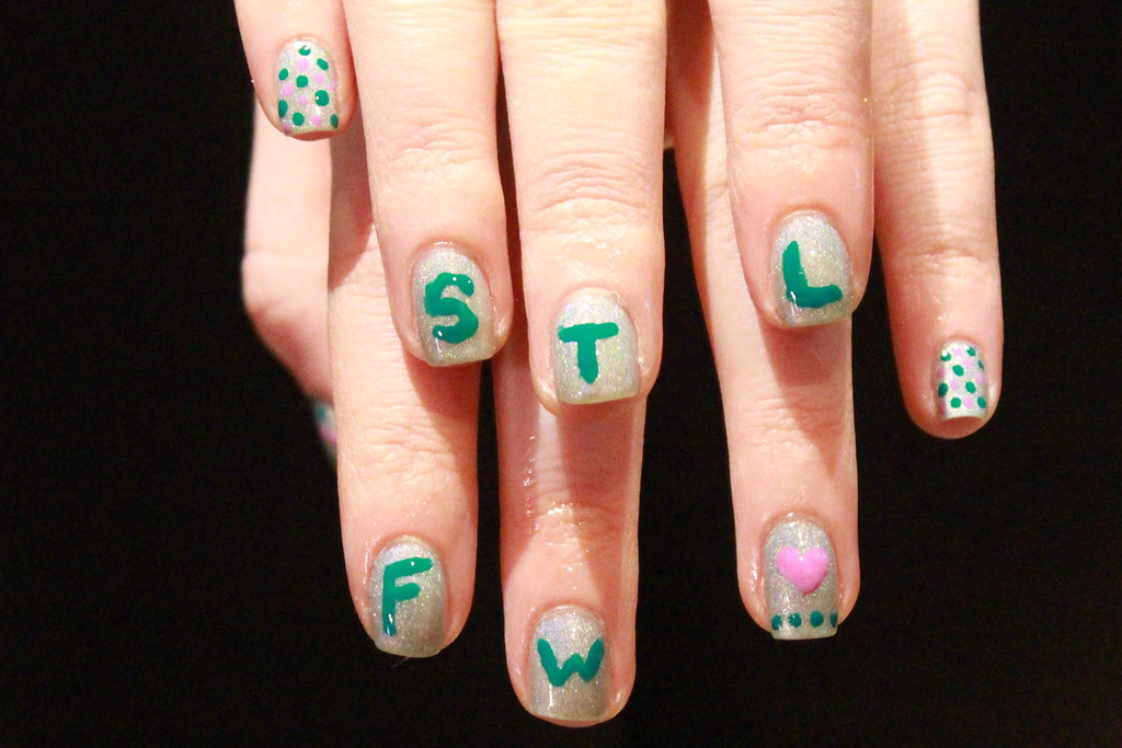 Living After Midnite: STLFW Nails