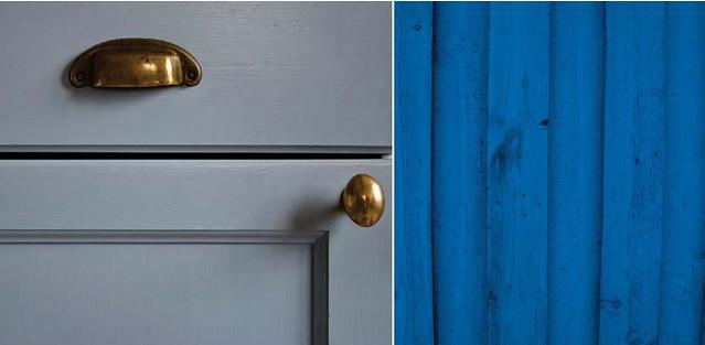 Keuken Blauw Verven : Blauwe kleuren PURE PAINT Eerlijke Verven