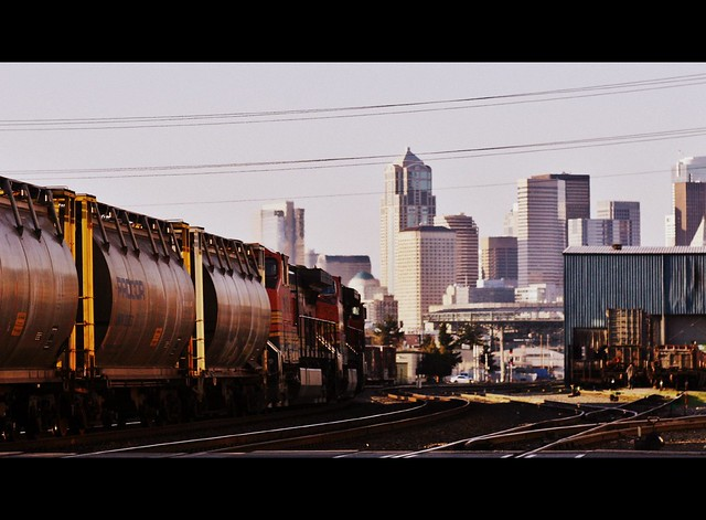 Northbound Grain Train I