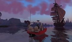 SXSW InWorldz: British galleon created by Nyx Breen