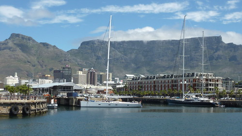 SOUTH AFRICA - Cape Town, Western Cape - Table Mountain from the Waterfront