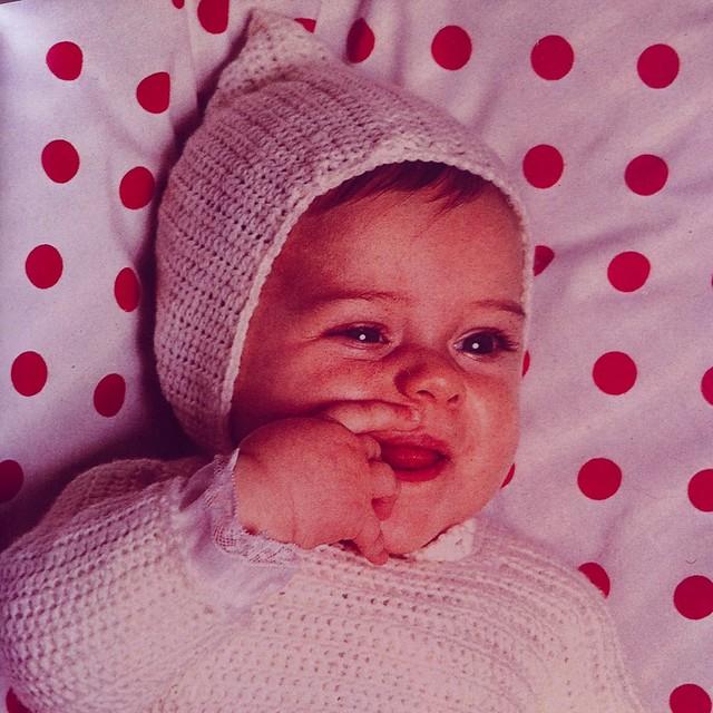 layette bébé vintage