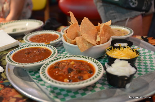 Barney's Beanery - Chilli Sampler