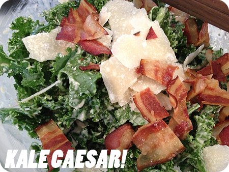 Kale Caesar recipe