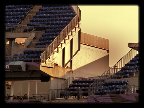 M&T Bank Stadium ~ early evening light by karma (Karen)