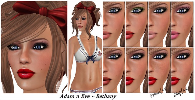 Adam n Eve ~ Bethany/Skin Fair 2013