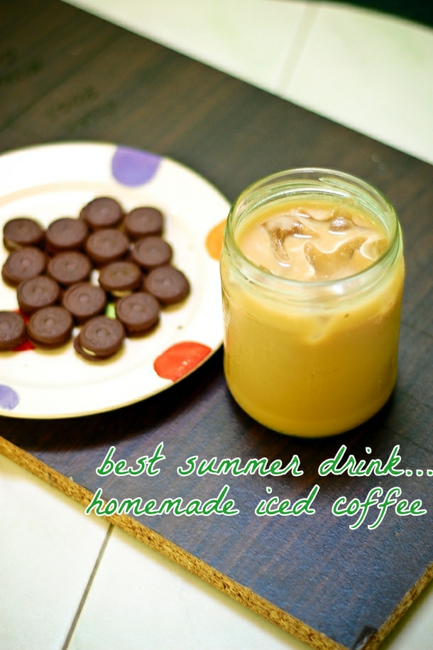 Iced Coffee Using NEscafe 3 in 1 instant coffee mix
