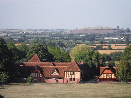 The Dairy, Waddesdon Manor Gardens, and Grange Hill, Quainton