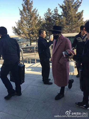 Big Bang - Harbin Airport - 21mar2015 - Kimsoohyun0223 - 04