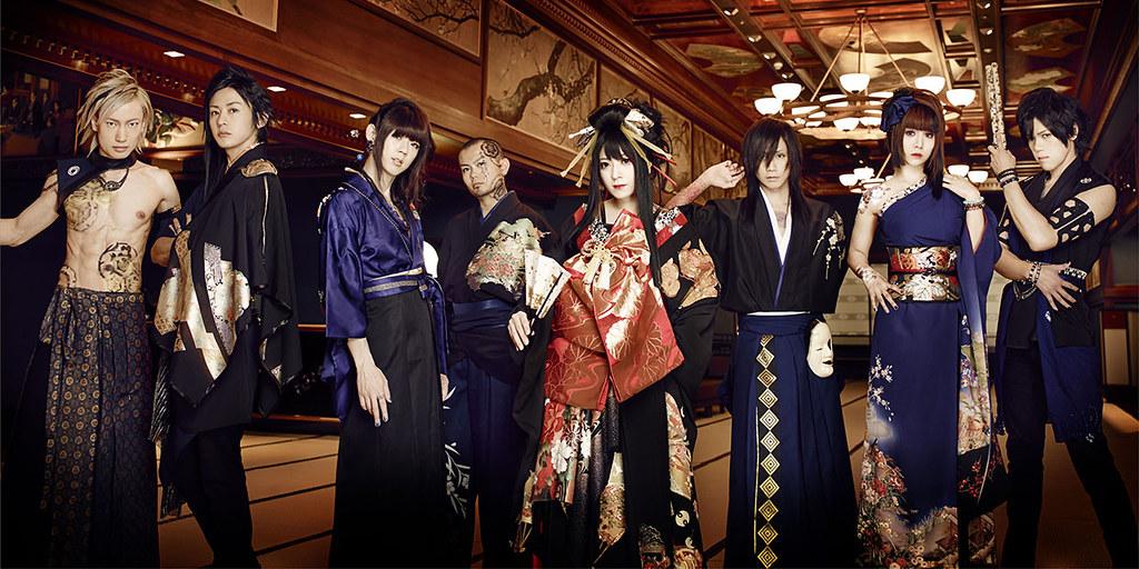 Wagakki Band - mistura de rock e musica japonesa que deu certo