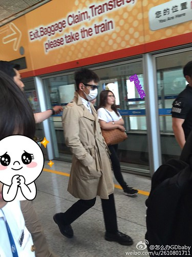 Big Bang - Beijing Airport - 05jun2015 - TOP - 怎么办GDbaby - 01