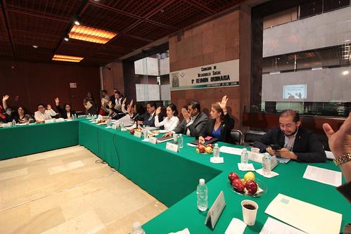 El día 21 de septiembre del 2016 se llevó a cabo la novena reunión ordinaria de la Comisión de Desarrollo Social.