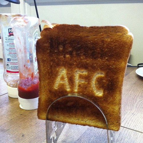 Arsenal toast