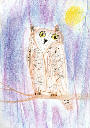 Lucas's Owl at Night (Age 9)