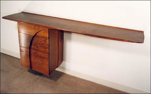 Fine Woodworking – Cantilevered Credenza