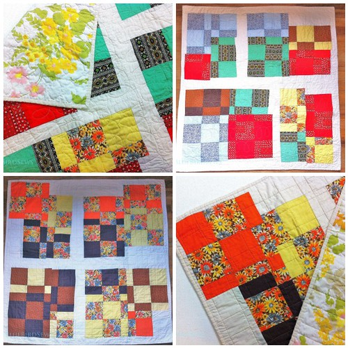 Vintage Reworked Quilts