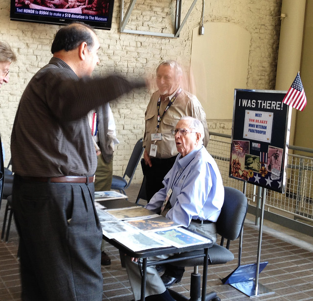 New Orleans WWII Museum Veteran