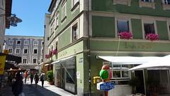 Пассау - одина из маленьких удиц в центре города