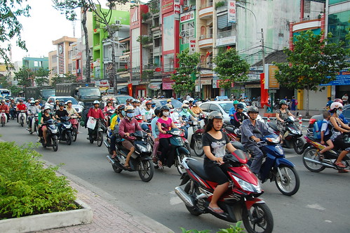 Vietnam street crossing