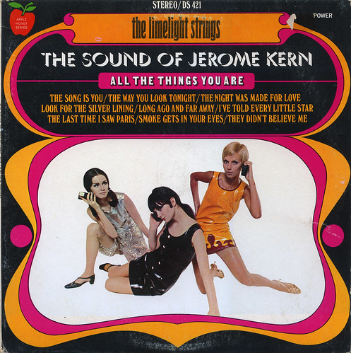 The Limelight Strings The Sound of Jerome Kern Record Album Cover