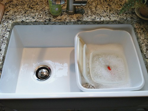 Our Farmhouse Sink Tips to Clean and Care for Porcelain Sinks Andrea Dekker