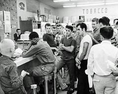 Harassment at Arlington, Virginia Sit-In: 1960