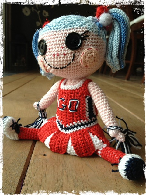 Lalaloopsy as a cheerleader