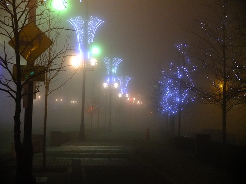 Central City, thick fog