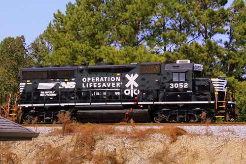 Norfolk Southern Locomotive #3052
