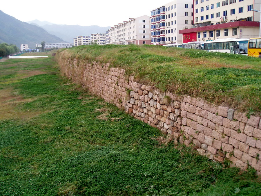 Ji'an fortress wall