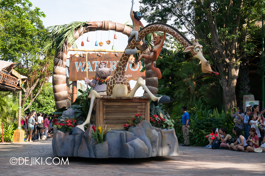 Hollywood Dreams Parade - Madagascar 5