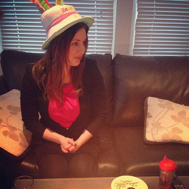 Celebrating my birthday. Turning 25 in 18 days!