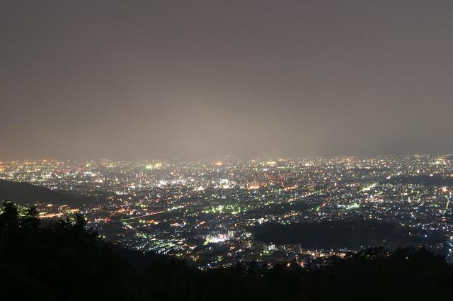 大文字からの夜景