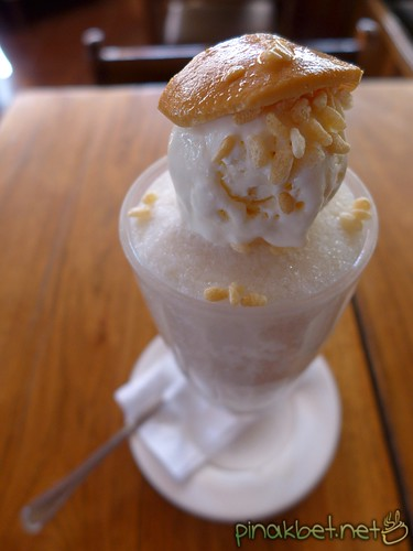 Halo-halo with Ice Cream of Nokinocs Savory House in Puerto Princesa, Palawan