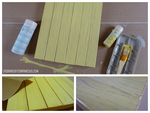 DIY Mini Pallet Art