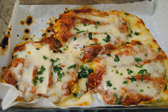 Baked chicken parmesan | Flickr - Photo Sharing!