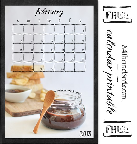ChocMacadamiaSpread_CalendarPrintable-Feb2013