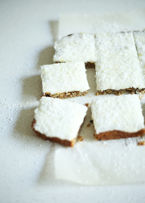 Healthier Lemon Slice / The Gluten Free Scallywag