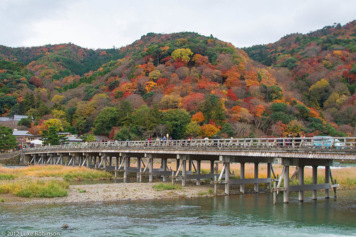 Togetsukyo Bridge, Arashimaya, Kyoto