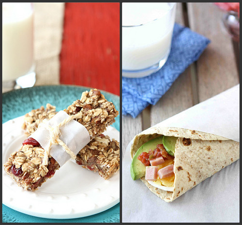 """On the go"" breakfast recipes"