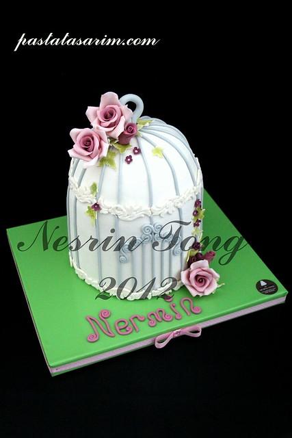 birdcase cake