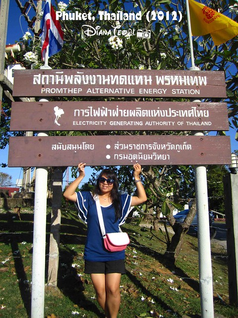 Phuket Day 1 - Promthep Alternative Energy Station 01