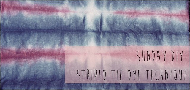 striped tie dye diy title