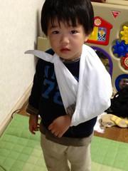 いたいたしいとらちゃん 2013/2/10