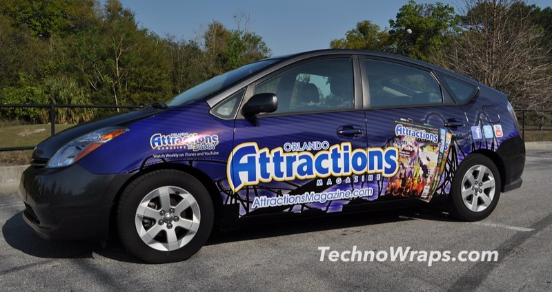 Florida car wrap