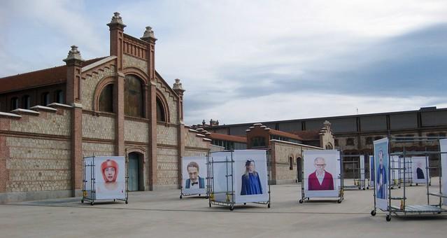 Retratos de Jorge Fuembuena (Plaza Matadero Madrid)