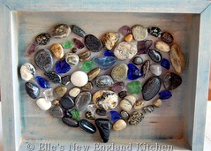 Beach Rock Shadow Box