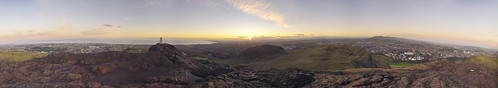 Top of arthur's seat Edinburgh 7am February by dombower83