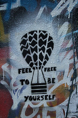 feel free to be yourself